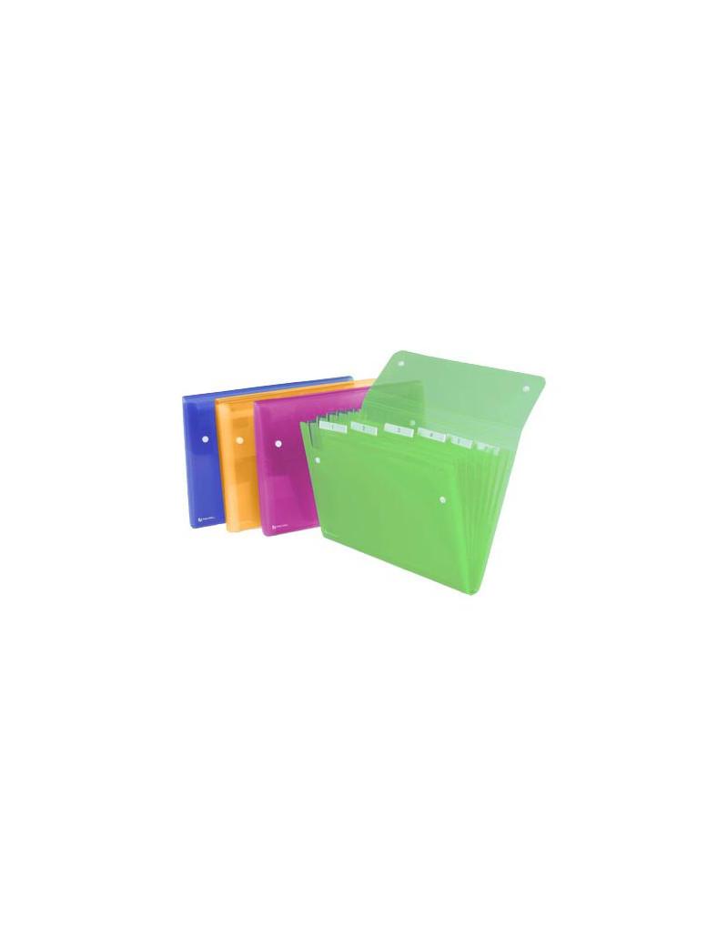 Archiviatore a Soffietto Ice Rexel - 6 Tasche - 2102032 (Assortiti)