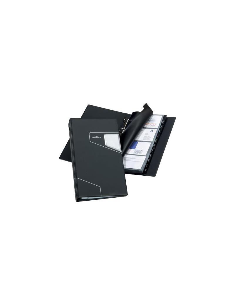 Portabiglietti Visifix Pro Durable - 200 Biglietti - 14,5x3x25,5 cm - 2461-58 (Grigio)