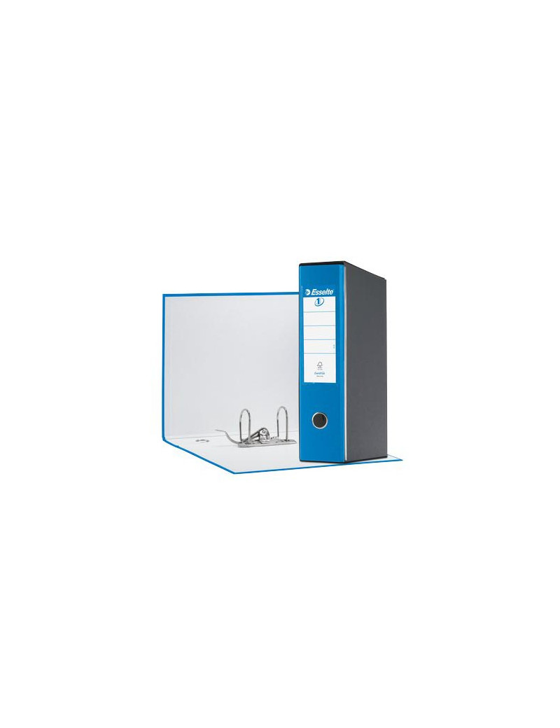 Registratore Eurofile Esselte - Commerciale - Dorso 8 - 23x30 cm - 390753910 (Blu Vivida)