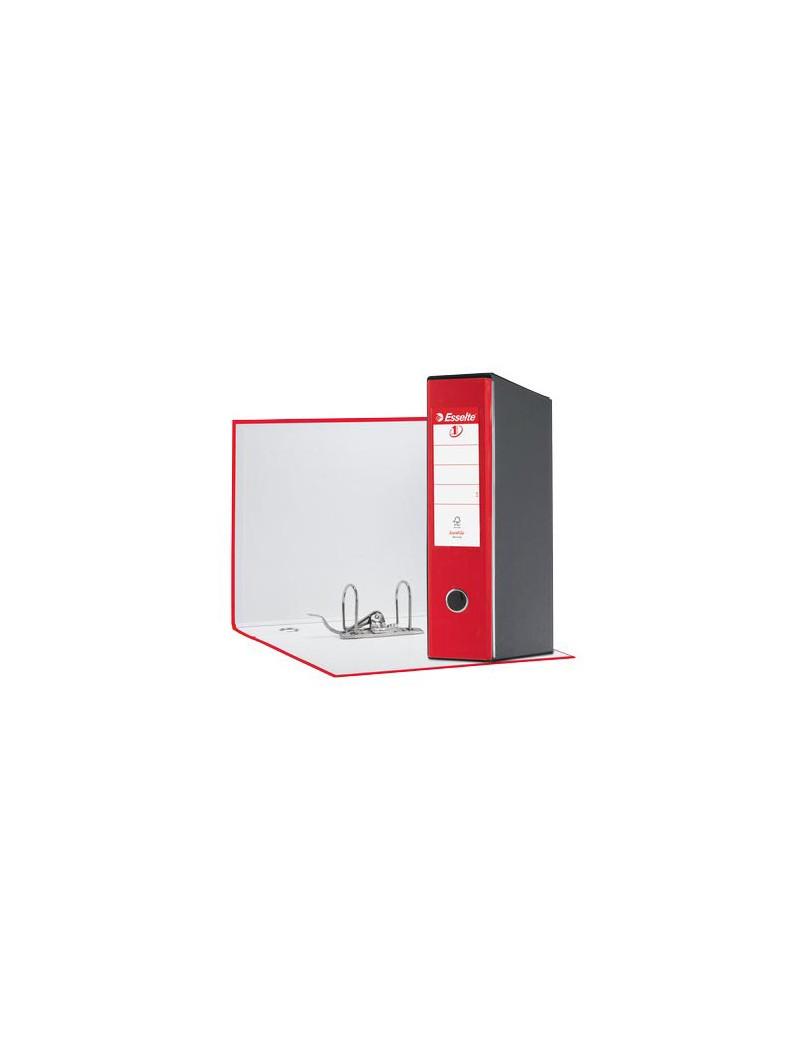 Registratore Eurofile Esselte - Commerciale - Dorso 8 - 23x30 cm - 390753920 (Rosso Vivida)