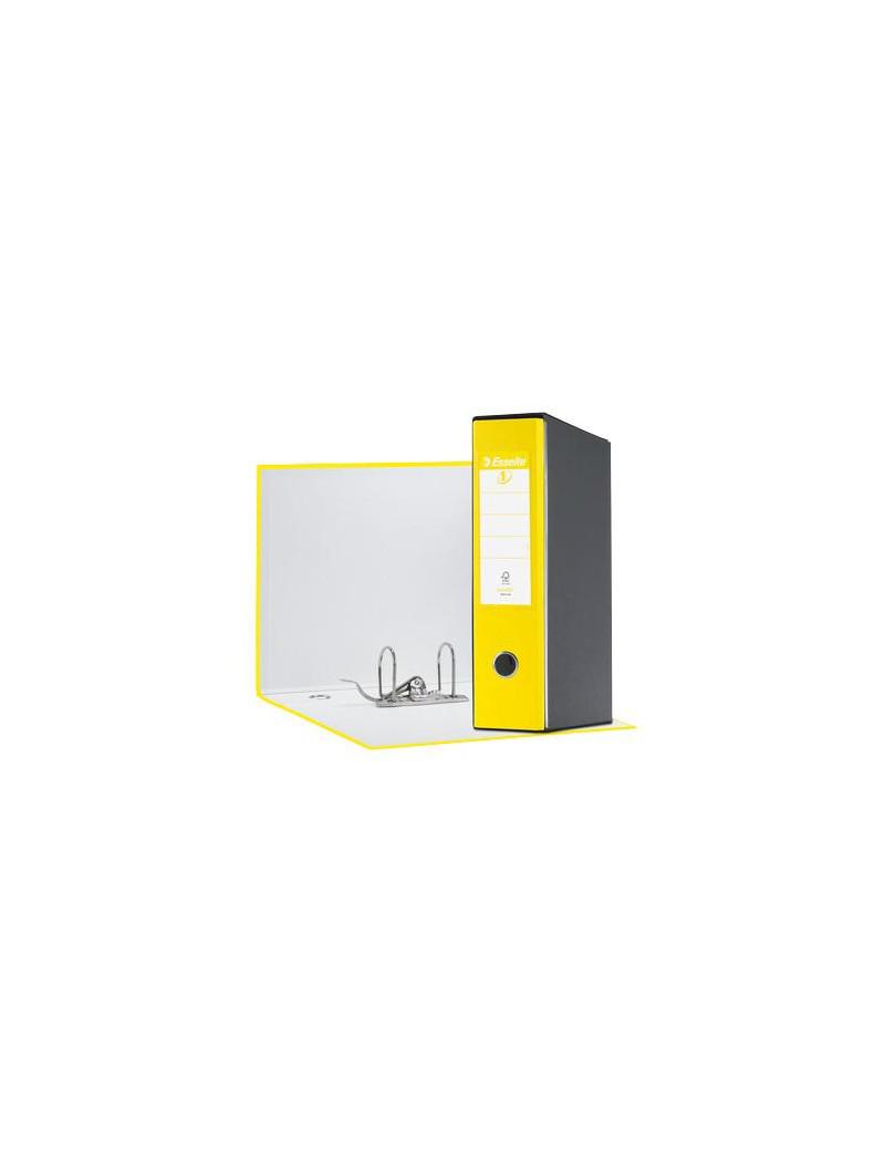 Registratore Eurofile Esselte - Commerciale - Dorso 8 - 23x30 cm - 390753930 (Giallo Vivida)