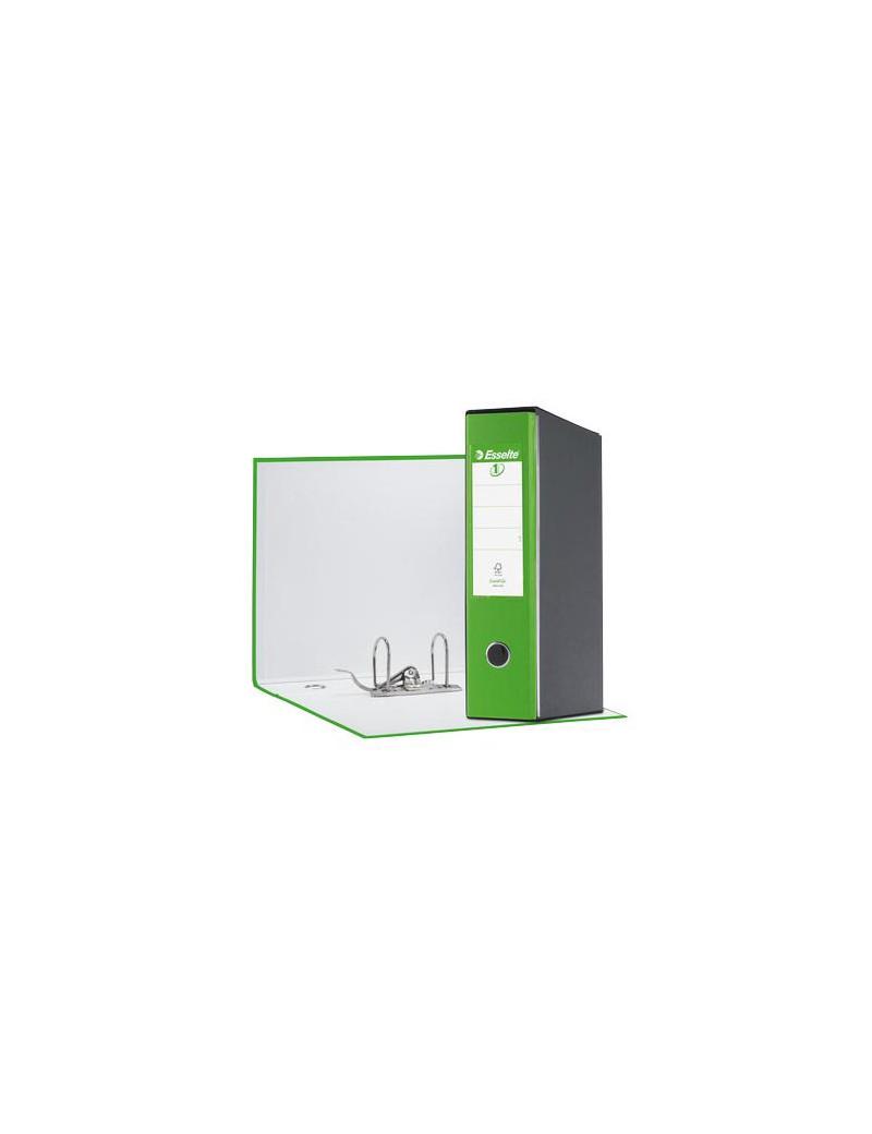 Registratore Eurofile Esselte - Commerciale - Dorso 8 - 23x30 cm - 390753940 (Verde Vivida)