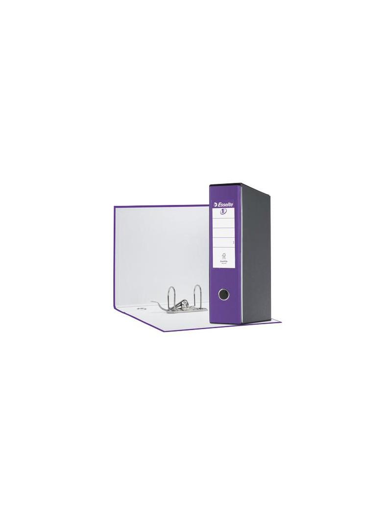 Registratore Eurofile Esselte - Protocollo - Dorso 8 - 23x33 cm - 390755950 (Lilla)