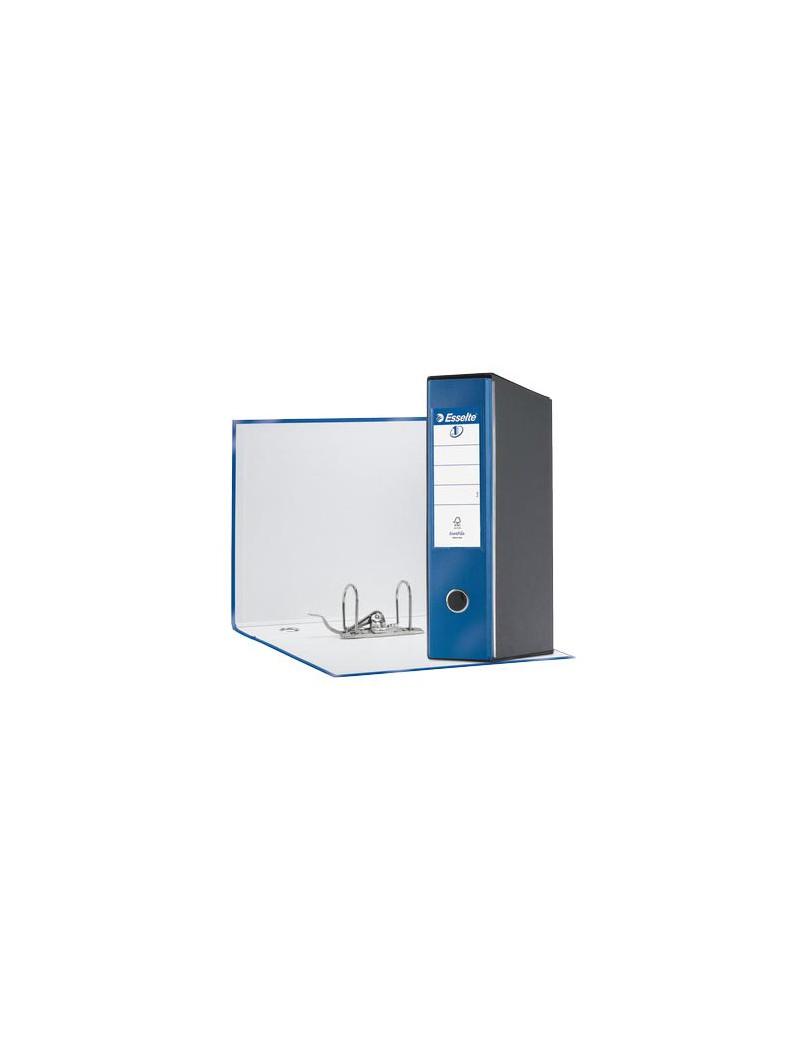 Registratore Eurofile Esselte - Protocollo - Dorso 8 - 23x33 cm - 390755960 (Blu Metallizzato)