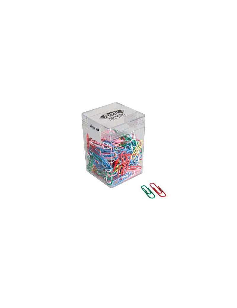Fermagli Gran Mix 125 Leone Dell'Era - FXPB125GMIX (Assortiti Conf. 125)
