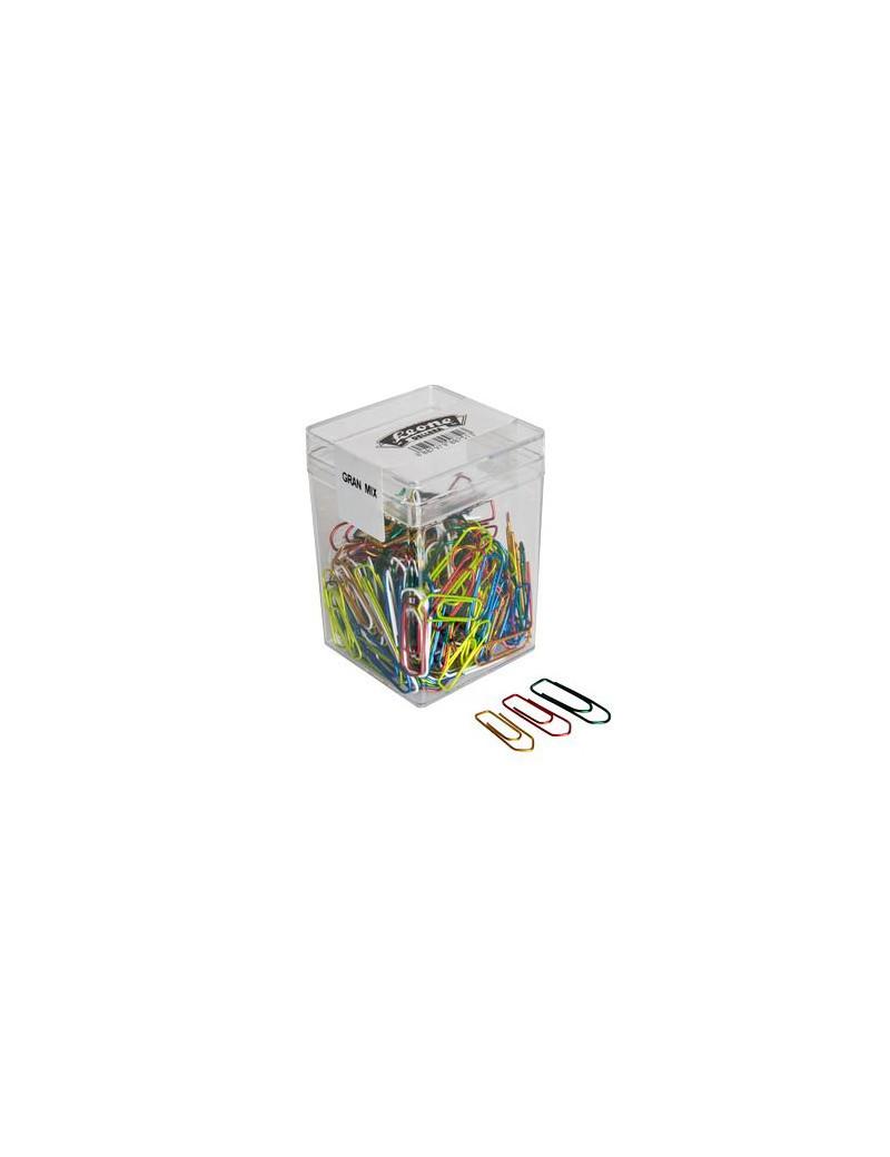 Fermagli Gran Mix 125 Leone Dell'Era - FXB125GMIX (Assortiti Metallizzati Conf. 125)