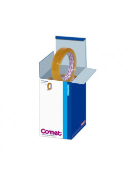 Cellophane Comet - Confezione Office Box - 15 mm x 66 m - 64160-00032-02 (Trasparente Conf. 10)