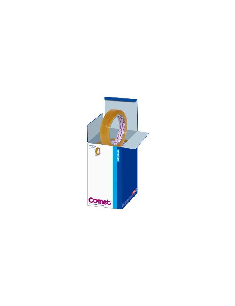 Cellophane Comet - Confezione Office Box - 15 mm x 66 m - 64160-00032-02 (Trasparente Conf. 10)
