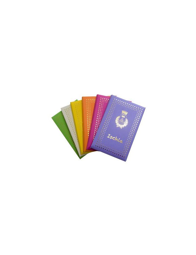 Biglietti e Buste Colorati Capri Sadoch - 9x14 cm - 8020 (Assortiti Conf. 24)