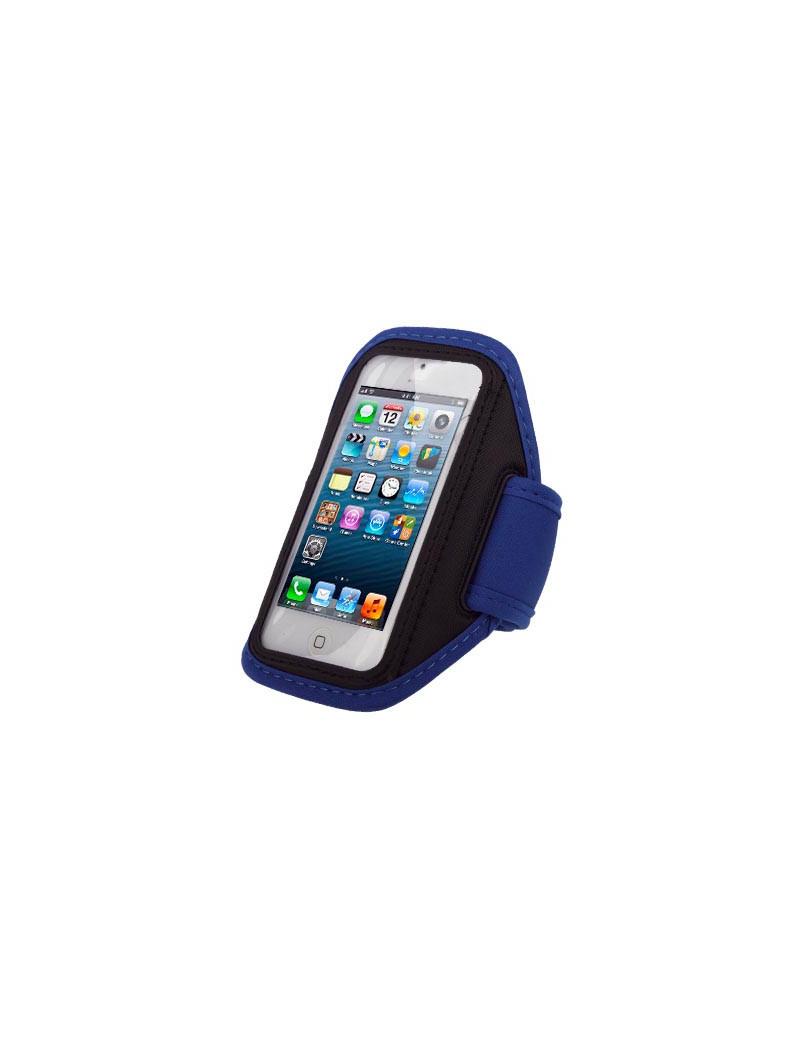 Fascia da Braccio Sportiva Armband per iPhone 4 4S 5 5S (Nero)