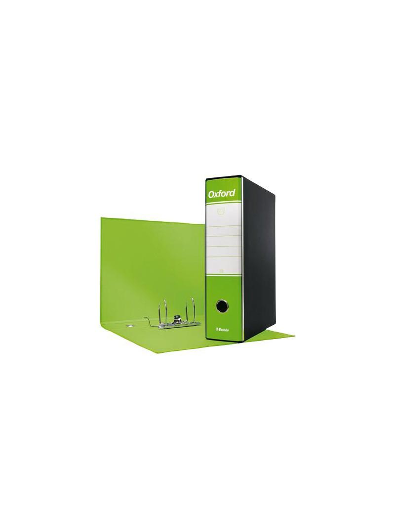 Registratore Oxford G83 Esselte - Commerciale - Dorso 8 - 23x30 cm - 390783600 (Verde Lime Conf. 6)