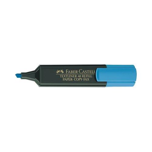 Evidenziatore-Textliner-48-Refill-Faber-Castell-1-5-mm-154851-Azzurro-Conf