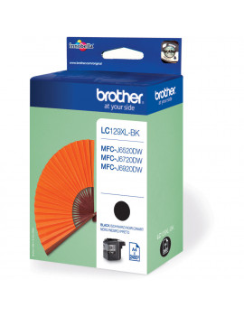 Cartuccia Originale Brother LC-129XLBK (Nero 2400 pagine)
