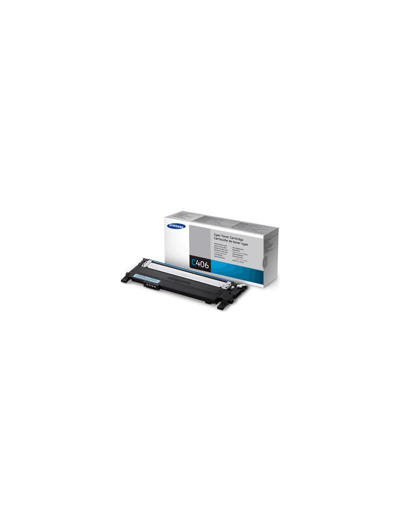 Multipack Toner Originali Samsung CLT-P406C SU375A (Nero e Colori Conf. 4)