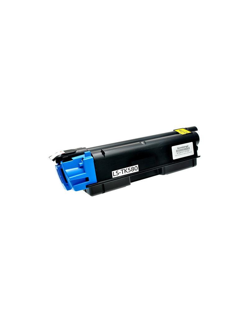 Toner Compatibile Kyocera TK-580C 1T02KTCNL0 (Ciano 2800 pagine)