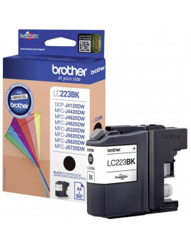 Cartuccia Originale Brother LC-223BK (Nero 550 Pagine)