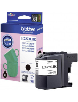 Cartuccia Originale Brother LC-227XLBK (Nero 1200 Pagine)