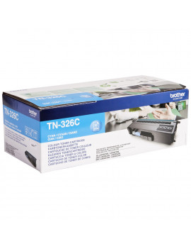Toner Originale Brother TN-326C (Ciano 3500 pagine)