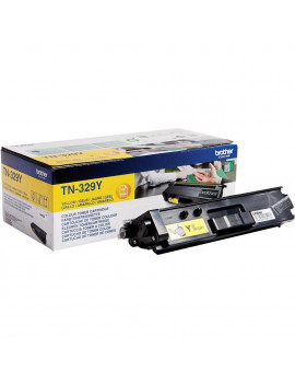 Toner Originale Brother TN-329Y (Giallo 6000 Pagine)