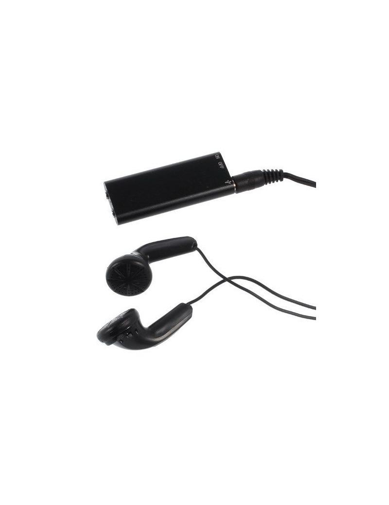 Registratore Vocale Portatile Spy con Lettore MP3 8 GB