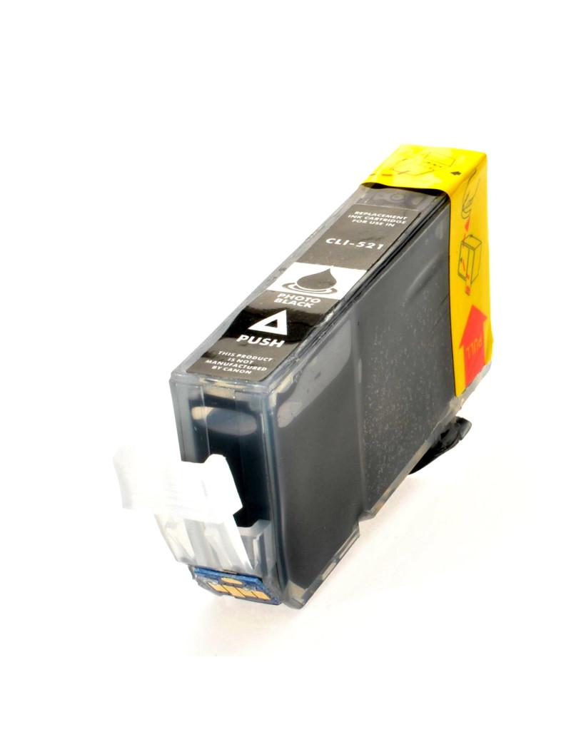 Cartuccia Compatibile Canon CLI-521BK 2933B001 (Nero)