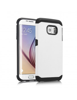 Cover Armor in TPU per Samsung Galaxy S6 Edge G925 (Bianco)