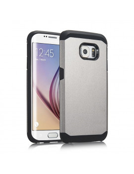 Cover Armor in TPU per Samsung Galaxy S6 Edge G925 (Grigio)