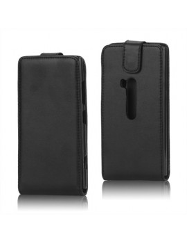 Cover Flip in Ecopelle per Nokia Lumia 920 (Nero)