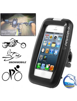 Supporto Bici Impermeabile Professionale per iPhone 4 4S (Nero)