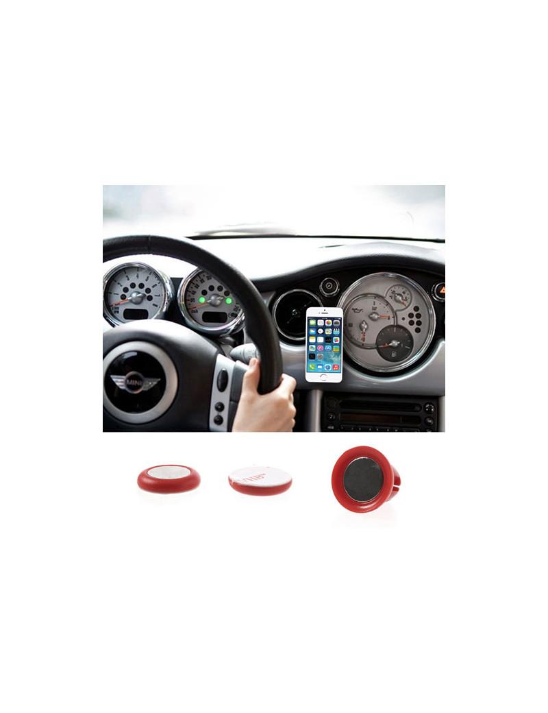 Supporto Auto Magnetico Universale per Smartphone (Rosso)