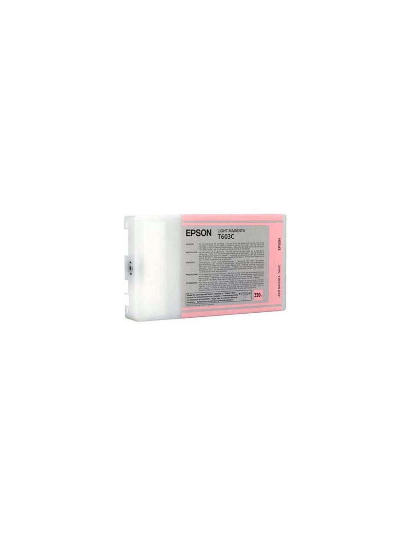 Cartuccia Originale Epson T603C00 (Magenta Chiaro 220 ml)