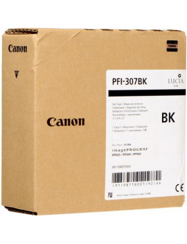 Cartuccia Originale Canon PFI-307bk 9811B001 (Nero 330 ml)