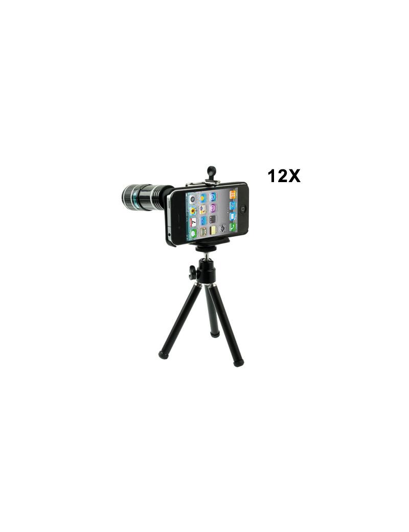 Zoom Ottico Fotografico 12x per iPhone 4 4S