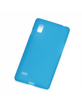 Cover in TPU Silicone Anti Scivolo per LG Optimus L9 P760 P769 (Blu)