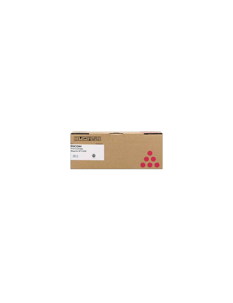 Toner Originale Ricoh Type SP C220 406054 406099 406767 407644 (Magenta 2000 pagine)