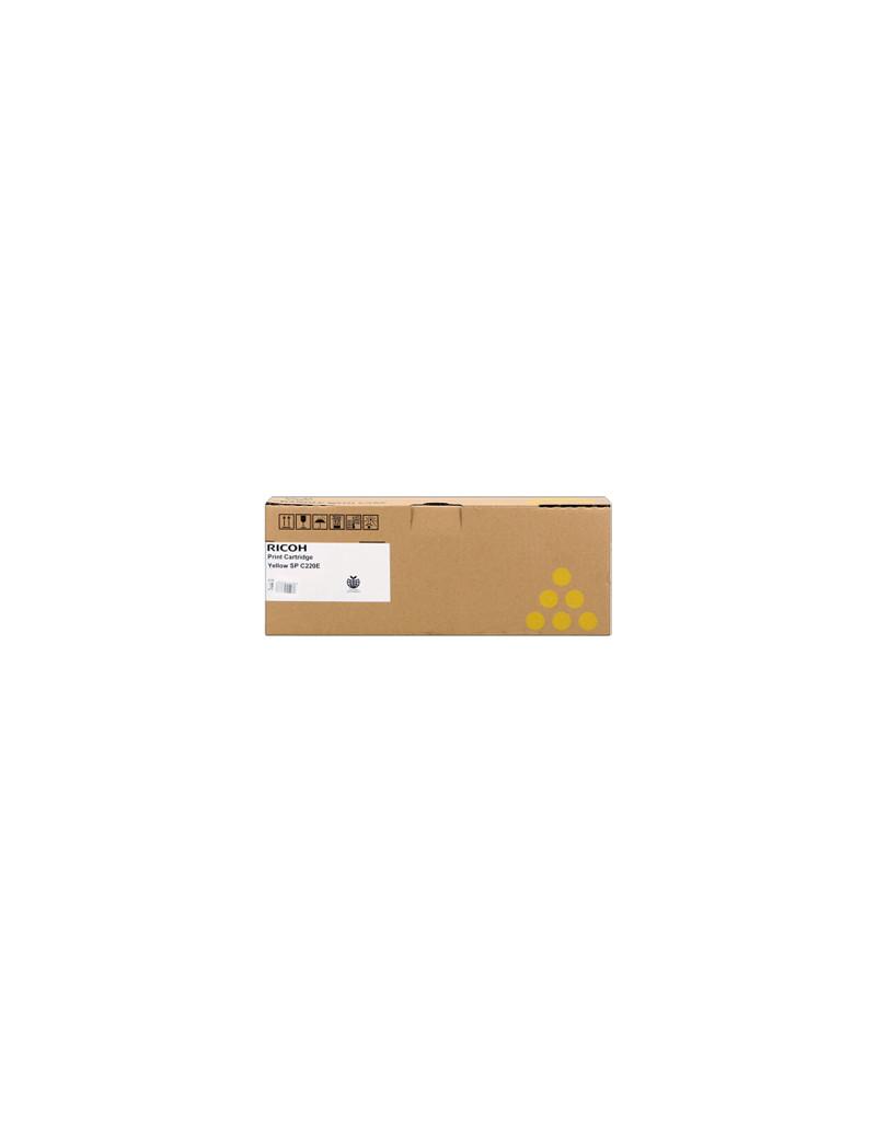 Toner Originale Ricoh Type SP C220 406055 406106 406768 407643 (Giallo 1800 pagine)
