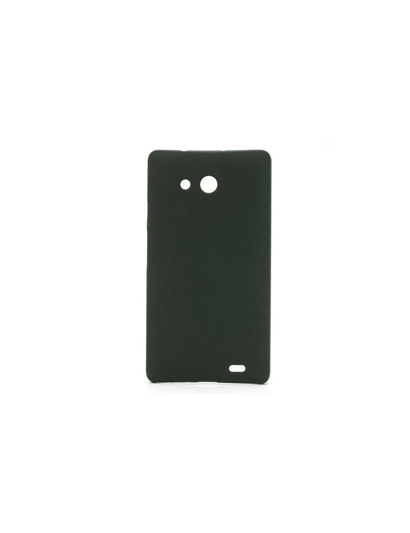 Cover in TPU Semi Rigida per Huawei Ascend Mate X1 (Nero)