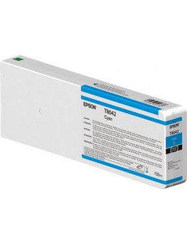 Cartuccia Originale Epson T804200 Ultrachrome HD HDX (Ciano 700 ml)