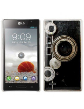 Cover Rigida Photo Lens in TPU per LG Optimus L9 P760 P769