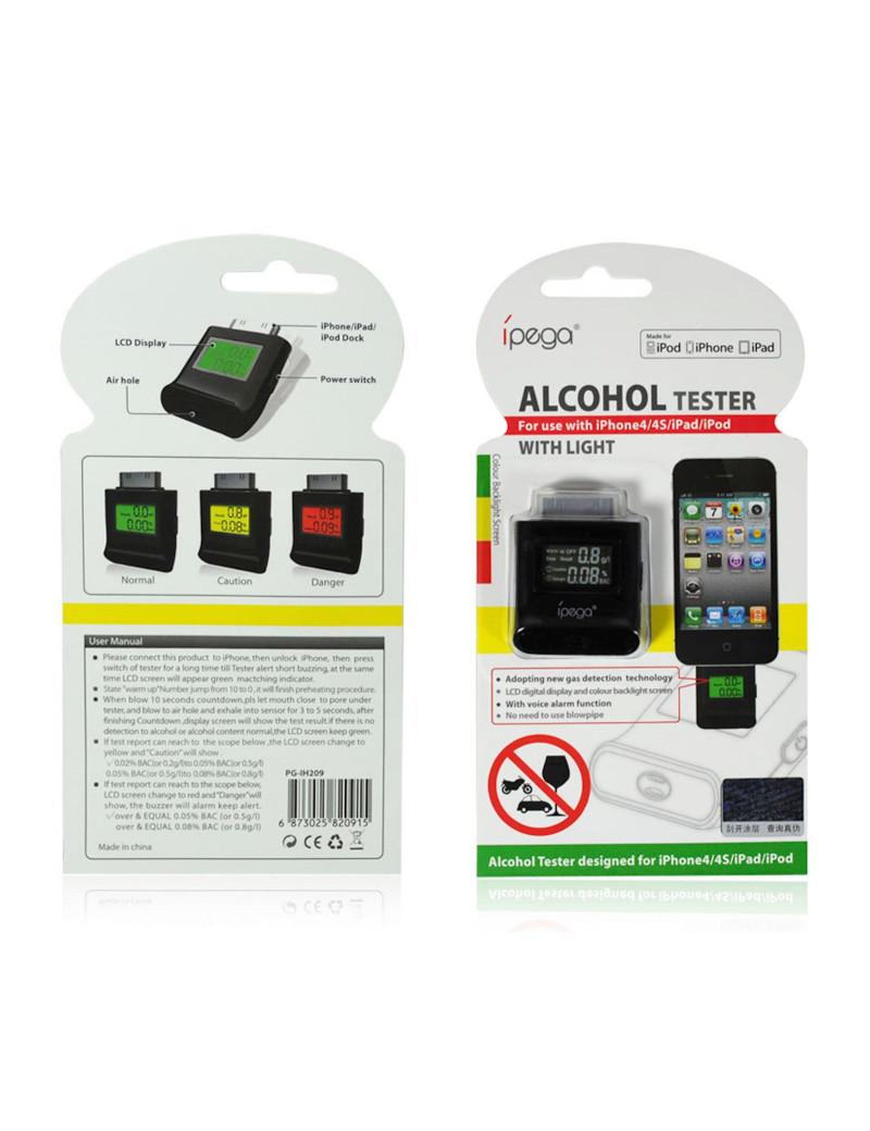 Alcohol Tester per iPhone 4 4S (Nero)