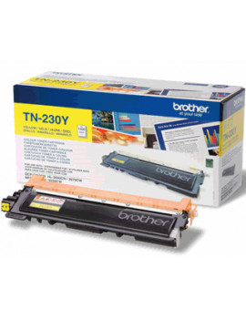 Toner Originale Brother TN-230Y (Giallo 1400 pagine)