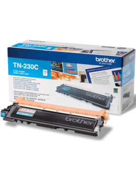 Toner Originale Brother TN-230C (Ciano 1400 pagine)