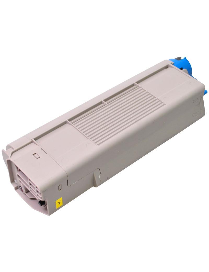 Toner Compatibile Oki 43865721 (Giallo 6000 pagine)