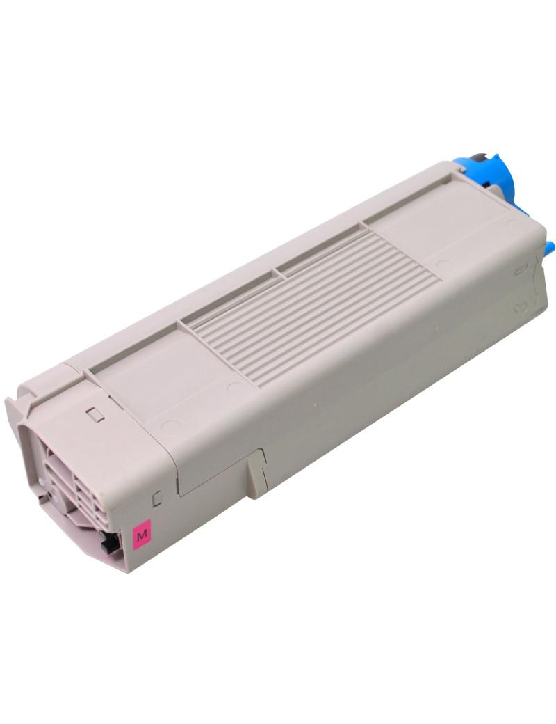 Toner Compatibile Oki 43865722 (Magenta 6000 pagine)