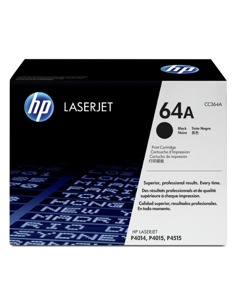 Toner Originale HP CC364A 64A (Nero 10000 pagine)