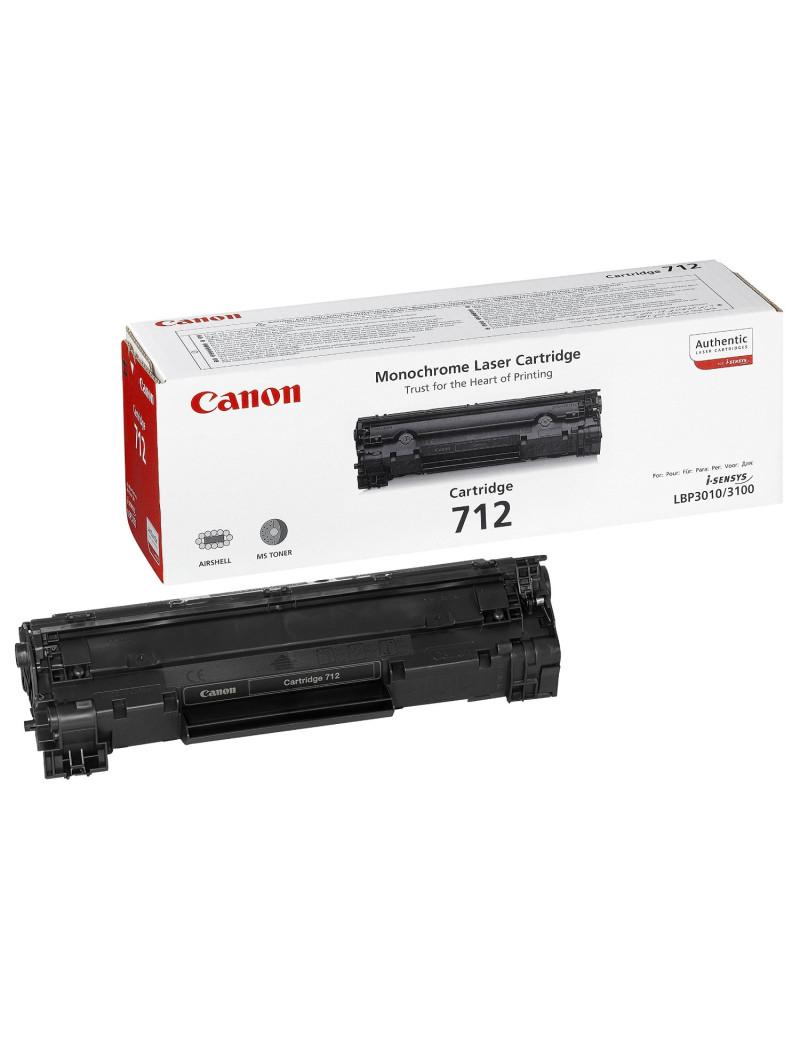 Toner Originale Canon 712 1870B002 (Nero 1500 pagine)