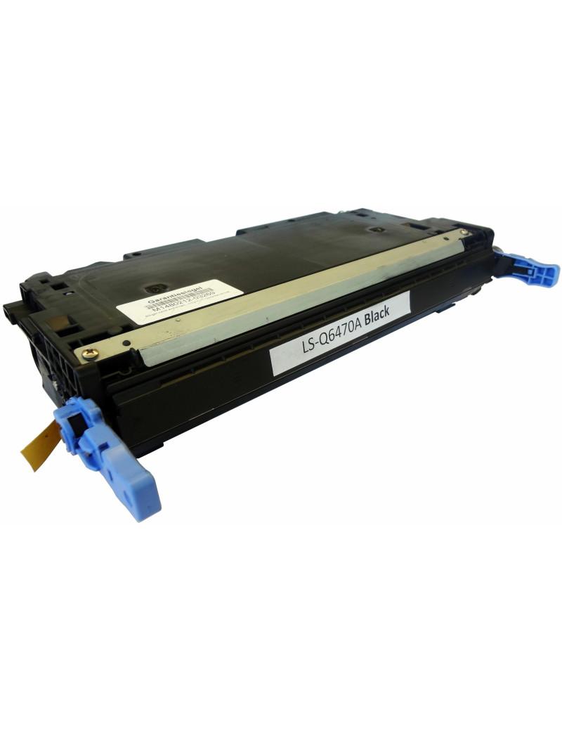 Toner Compatibile HP Q6470A 501A (Nero 6000 pagine)