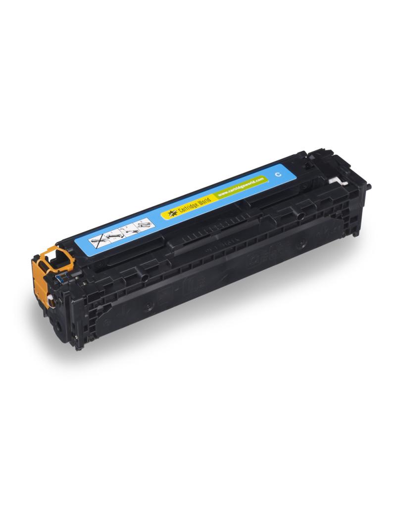 Toner Compatibile HP CB541A 125A (Ciano 1400 pagine)