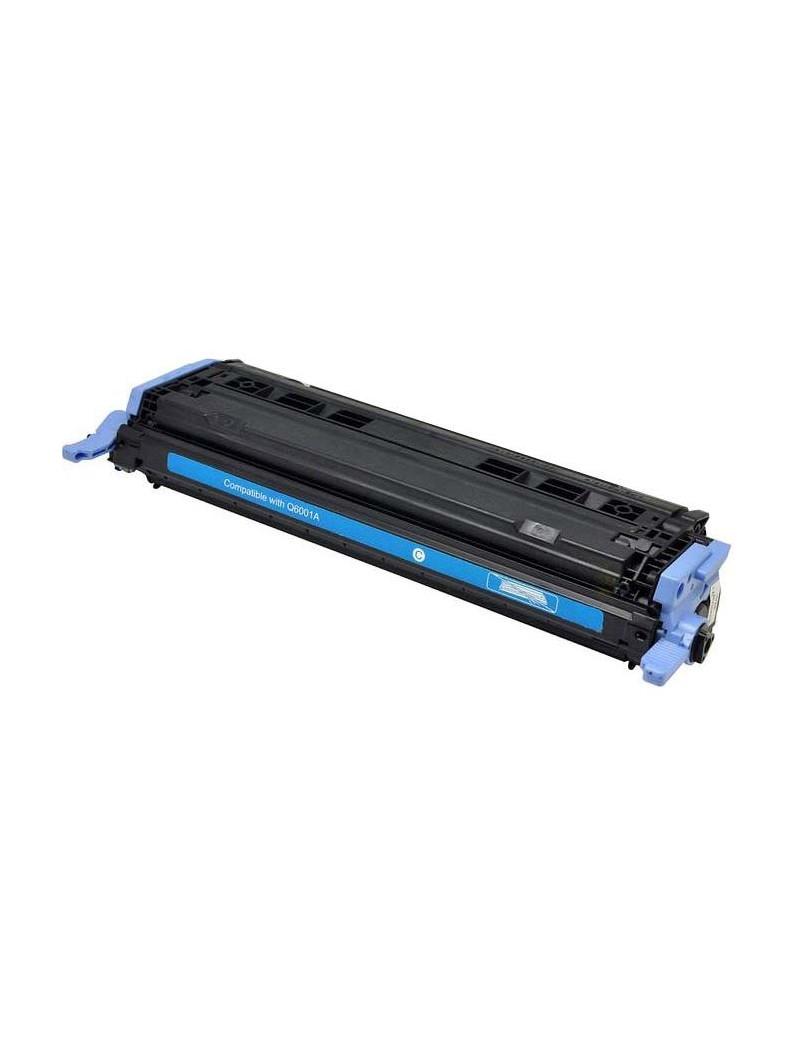 Toner Compatibile HP Q6001A 124A (Ciano 2000 pagine)