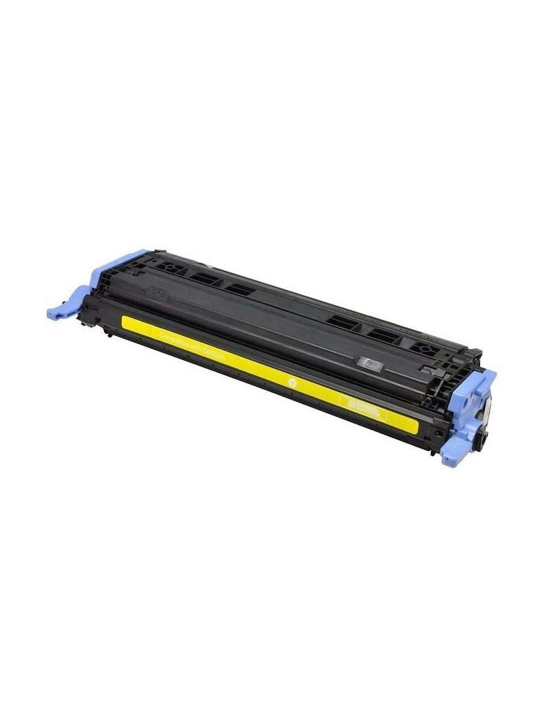 Toner Compatibile HP Q6002A 124A (Giallo 2000 pagine)
